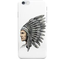 Native American Man iPhone Case/Skin