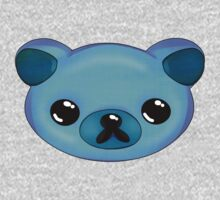 Super Kawaii Blueberry Bear! by PixieWillow