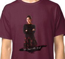 Clara Oswald / The Impossible Girl / Doctor Who  Classic T-Shirt