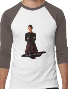 Clara Oswald / The Impossible Girl / Doctor Who  Men's Baseball ¾ T-Shirt