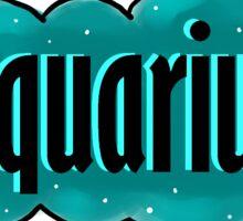 Aquarius  Sticker