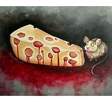 The Reward is Cheese Photographic Print