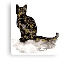 Galaxy Cat Canvas Print
