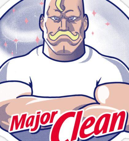 Major Clean Sticker