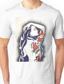 Tattooed Babe. Unisex T-Shirt