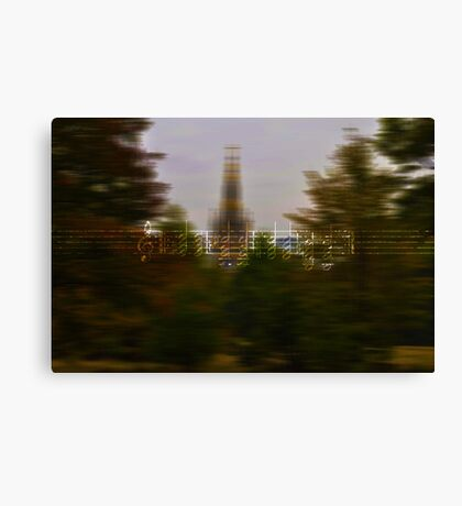 Urban Vibrations Canvas Print