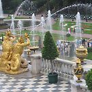 The Great Cascade Fountain, Peterhof by Elena Skvortsova