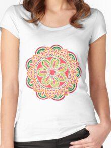 Mandala Women's Fitted Scoop T-Shirt