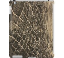 Vintage Pictorial Map of Tallahassee FL (1885) iPad Case/Skin