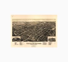 Vintage Pictorial Map of Tallahassee FL (1885) T-Shirt