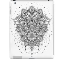 Ornate Lotus Flower iPad Case/Skin