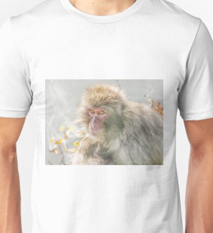 Snow Monkey Unisex T-Shirt