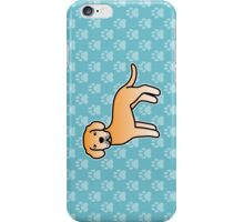 Yellow Labrador Retriever Cartoon Dog iPhone Case/Skin