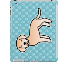 Light Yellow Labrador Retriever Cartoon Dog iPad Case/Skin