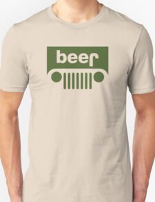 Drink beer in a truck or jeep. T-Shirt