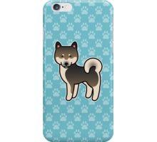 Sesame Shiba Inu Dog Cartoon iPhone Case/Skin