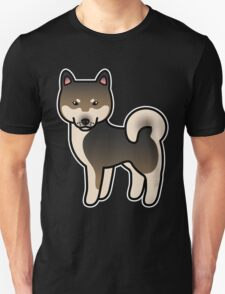 Sesame Shiba Inu Dog Cartoon T-Shirt