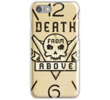 Starship Trooper Death from Above clock iPhone Case/Skin