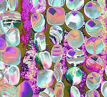 abstract colored stones by spetenfia