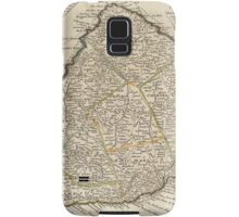 Vintage Map of Barbados (1736)  Samsung Galaxy Case/Skin