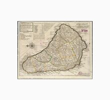 Vintage Map of Barbados (1736)  Unisex T-Shirt