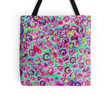 abstract colored stones Tote Bag