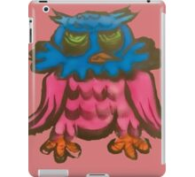 Crazy Owl iPad Case/Skin