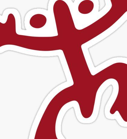 Coqui Taino (Red) Sticker