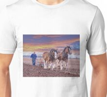 Working Clydesdale Horses Unisex T-Shirt