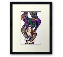 paisley Power Framed Print