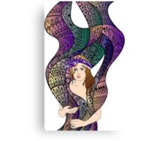 paisley Power Canvas Print