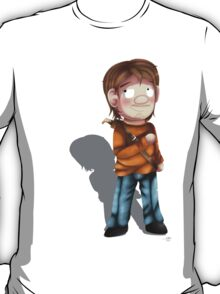 Cartoon Luke The Walking Dead Game T-Shirt