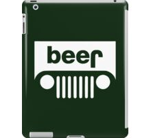 Beer Jeep iPad Case/Skin