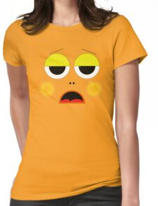 Tired Face Womens Fitted T-Shirt