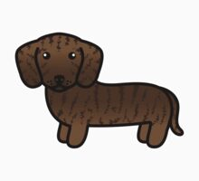 Brindle Smooth Coat Dachshund Kids Clothes