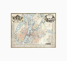 Vintage Map of Stockholm (1733) Unisex T-Shirt