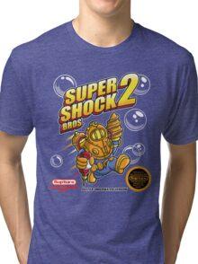 Super Shock Bros 2 Tri-blend T-Shirt