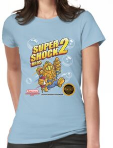 Super Shock Bros 2 Womens Fitted T-Shirt