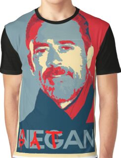Negan The Walking Dead Satan Graphic T-Shirt