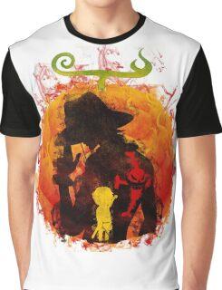 Mera mera art (Ace) Graphic T-Shirt