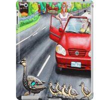 Ducks Crossing iPad Case/Skin