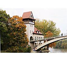 Autumn in Berlin Photographic Print
