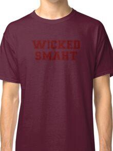 Wicked Smart (Smaht) College Boston Classic T-Shirt