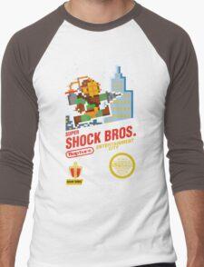 Super Shock Bros Men's Baseball ¾ T-Shirt