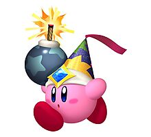 Bomb Kirby Photographic Print