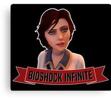 Bioshock Infinite Elizabeth Canvas Print