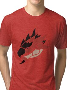 Monster Hunter - Rathalos Head Tri-blend T-Shirt