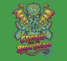 Cthulhu from the Black Lagoon Kids Tee