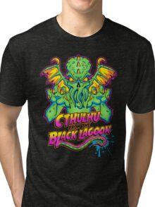 Cthulhu from the Black Lagoon Tri-blend T-Shirt