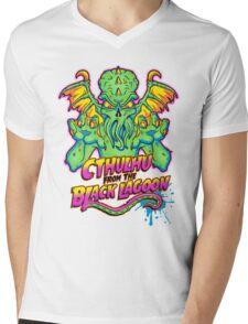 Cthulhu from the Black Lagoon Mens V-Neck T-Shirt